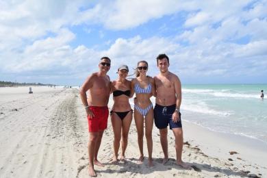 Mum, Dad, Tom & I, Cuba 2018.